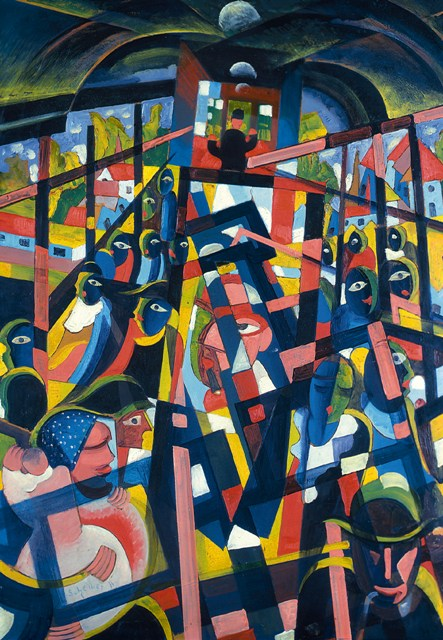 """A Treasure Of Hungarian Avant-garde Painting In Amsterdam, """"From"""