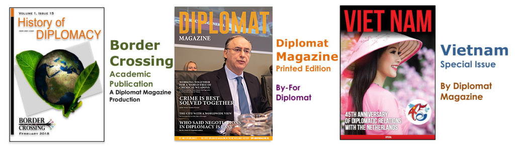 Diplomat magazine - The first official diplomatic magazine