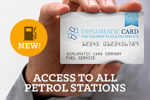 Diplomatic Card Tax-Free Fuel