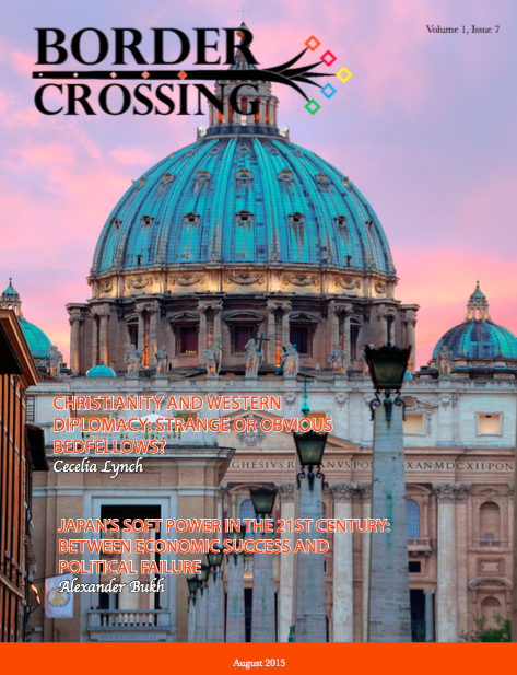 Border Crossing Volume 1 Issue 7August